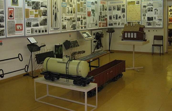 Музей работников жд в городе Псков