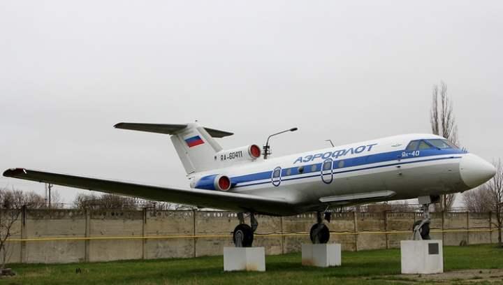 Музей авиации Минеральных вод занимает площадь под открытым небом