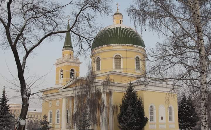 собор построен в первой половине 19 столетия