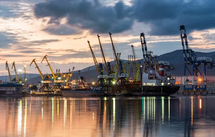 Основной порт Краснодарского края