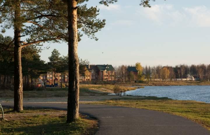 Озеро города Сургут