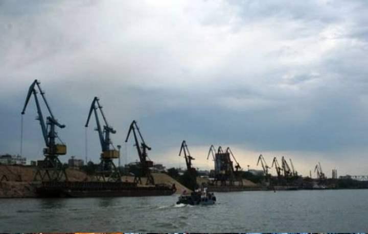 Порт города Новосибирска