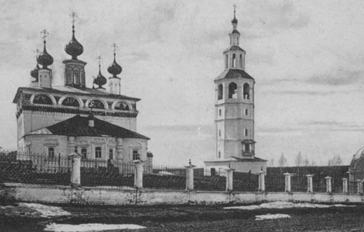 Церкви города Соликамска
