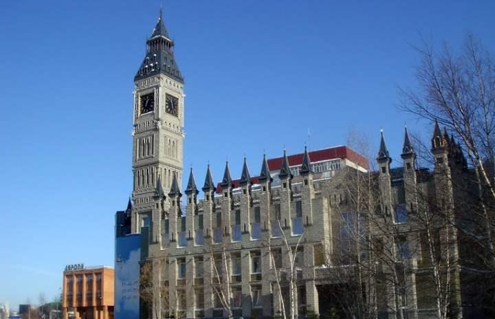 Главные часы города Сургут
