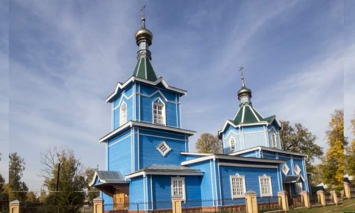 Церковь была возведена в 1985 году