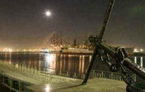 Ночной город Новороссийск