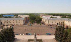 Площадь города Салават