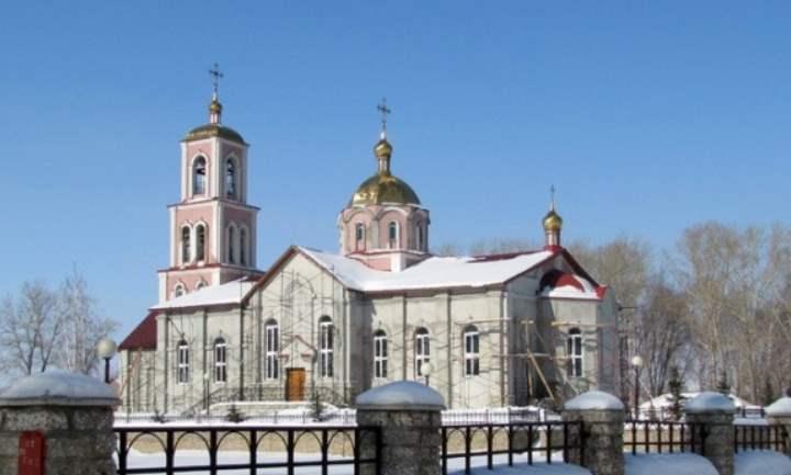 Церковь города Салават