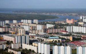 С высоты полета птицы город Нижневартовск