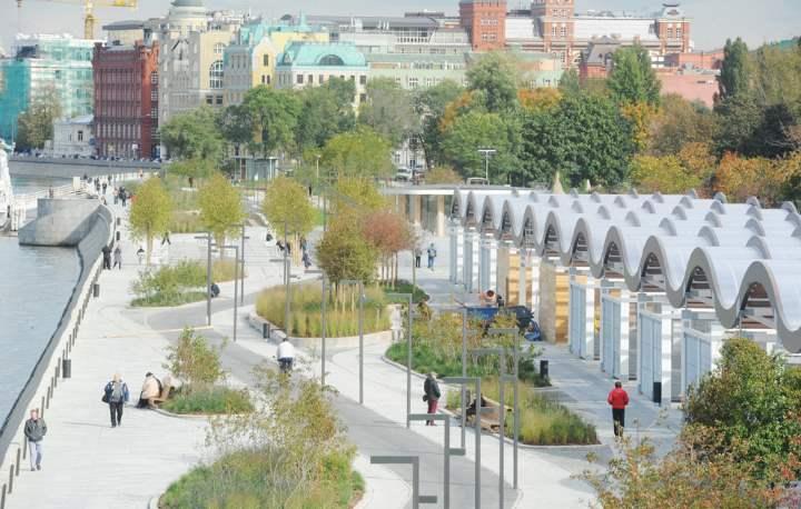 План парка Музеона