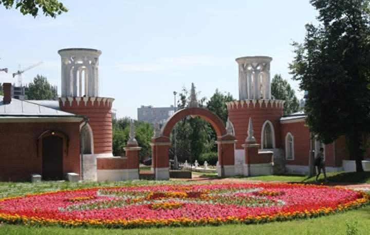 Входы Воронцовского парка в москве