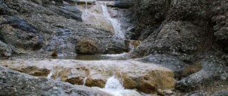 Внешний вид водопадов Крыма