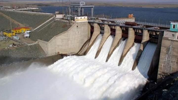 одна из крупных гидроэлектростанций Южного Урала