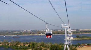 Вид на левую сторону новгородской канатки