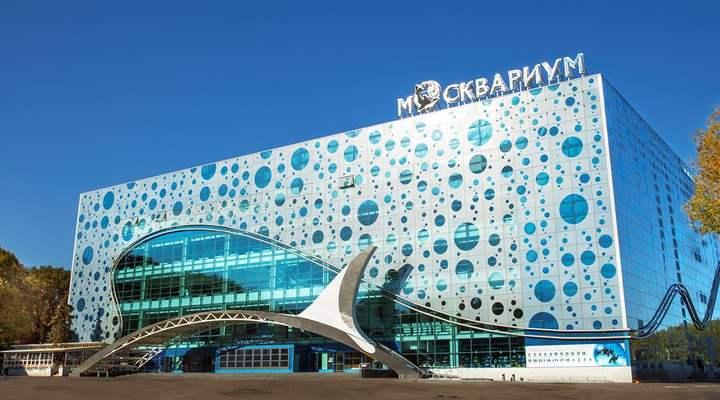 Москвариум считается самым большим и лучшим в Москве