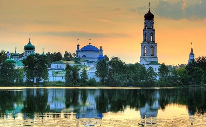 Закат в Казани