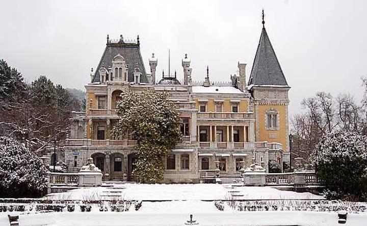 Зима в Массандре