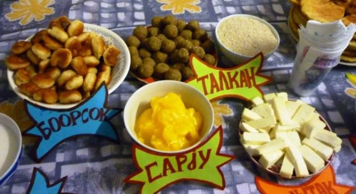 Блюда из Алтая