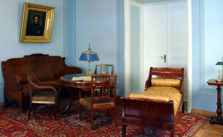 Спальня Пушкина