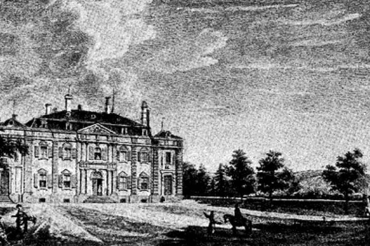 Рисунок дворца