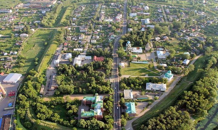 Город под Москвой