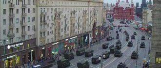Главная Улица Москвы
