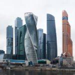 Красивый вид Москвы