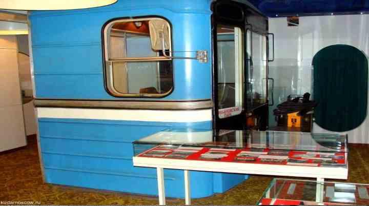 Экспозиция музея метро