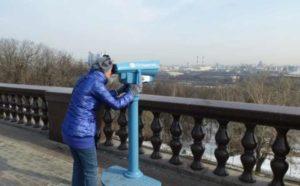 Обзор с Воробьевых гор