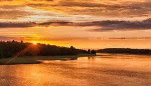 В окрестностях Онежского озера очень много заповедных территорий