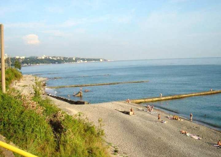 Пляж за городом