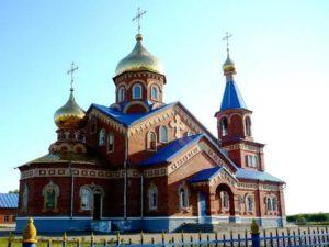 Является действующим. Этот храм был построен в 1999 году в Рузаевке, в микрорайоне Химмаш.