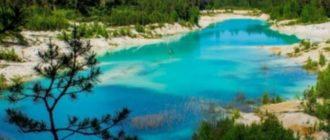 Вода озера отличается особой чистотой и прозрачностью