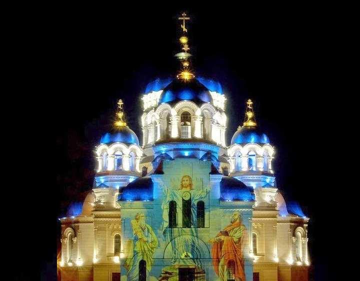 Этот Вознесенский кафедральный собор просто великолепен