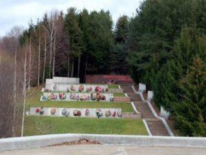 Находится в Зубцове, на улице Павлова. Это место особо почитаемо жителями Зубцовского района.