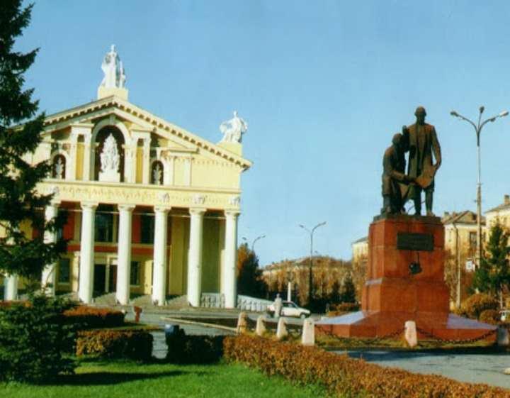 ~ Памятник героям гражданской войны