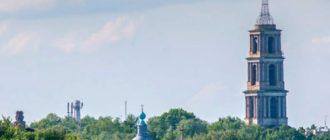 Эта историческая Усадьба находится в пригороде, в селе Хрусловка.