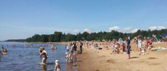 * Зеленогорский район славится мягким климатом, живописной природой, целебным морским воздухом и неглубоким морем с красивыми пляжами.