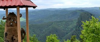 - высота Белокурихи над уровнем моря составляет 250 метров