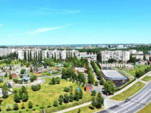 Во время Великой Отечественной войны город был разрушен до основания