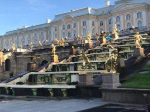 С 1712 по 1918 года Санкт-Петербург был столицей нашего государства.