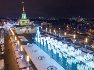 Всероссийский выставочный комплекс находится на проспекте Мира, 119