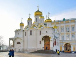 Сооружение этого соборного комплекса началось в 1627 году