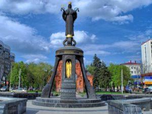 Это еще один памятник, посвящённый августейшей особе - императору Александру