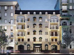 Это хороший отель почти в центре Москвы.