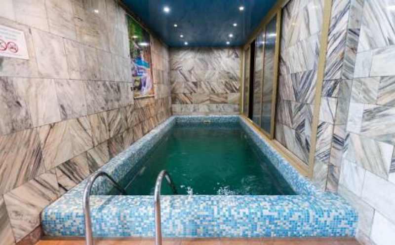 На базе отдыха есть сауна, бассейн