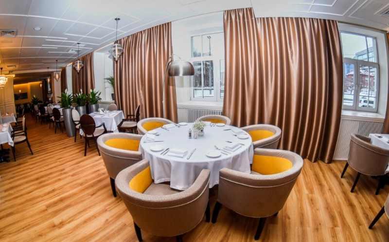 Внутренний облик ресторана