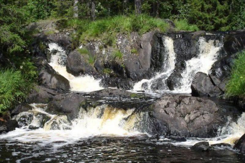 три водопада в карелии
