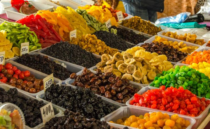 Периоды созревания фруктов в Адлере