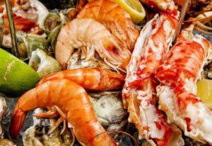 Лучшие рестораны морепродуктов в Москве
